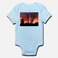 Red Sky at Dawn Body Suit