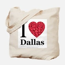 I (Heart) Dallas Tote Bag