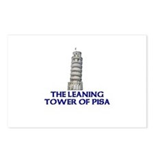 The Leaning Tower of Pisa Postcards (Package of 8)