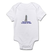 The Leaning Tower of Pisa Infant Bodysuit