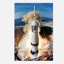 Cute Nasa rocket science Postcards (Package of 8)