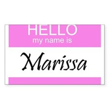 Marissa Rectangle Decal