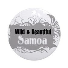 Unique Made samoa Ornament (Round)