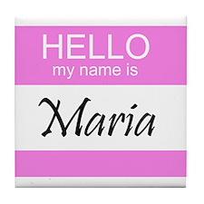 Maria Tile Coaster