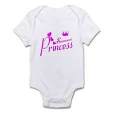 Samoan princess Infant Bodysuit