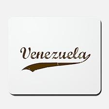 Vintage Venezuela Retro Mousepad