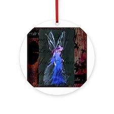 CD Cover Ornament (Round)