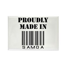 proudly made in Samoa Rectangle Magnet