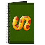 Fiery Maya Jaguar Tail Journal