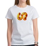 Fiery Maya Jaguar Tail Women's T-Shirt