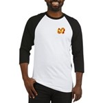 Fiery Maya Jaguar Tail Baseball Jersey