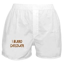 I Bleed Chocolate Boxer Shorts