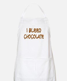 I Bleed Chocolate BBQ Apron