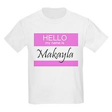 Makayla Kids T-Shirt