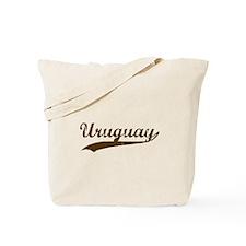 Vintage Uruguay Retro Tote Bag