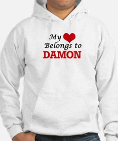 My heart belongs to Damon Hoodie