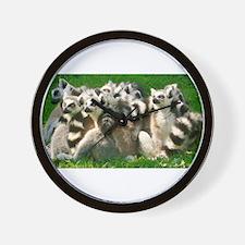 Lemurs Wall Clock