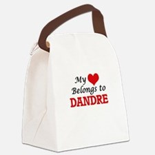 My heart belongs to Dandre Canvas Lunch Bag