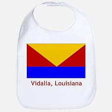 Vidalia LA Flag Bib