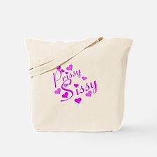 Prissy Sissy Pink Tote Bag