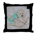 SOPHIE AND MOUSE THROW PILLOW