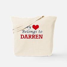 My heart belongs to Darren Tote Bag
