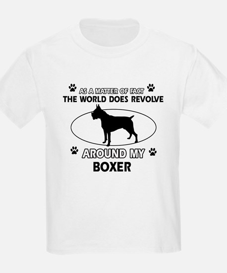 Boxer Dog Awesome Designs T-Shirt
