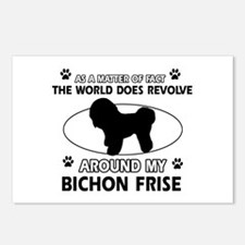 Bichon Frise Dog Awesome Postcards (Package of 8)