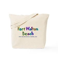 Fort Walton Beach - Tote or Beach Bag