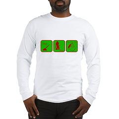 Hoe, Hoe, Ho Long Sleeve T-Shirt