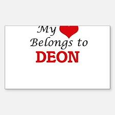 My heart belongs to Deon Decal
