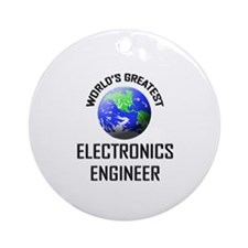 World's Greatest ELECTRONICS ENGINEER Ornament (Ro
