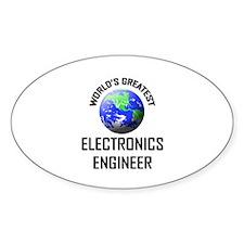 World's Greatest ELECTRONICS ENGINEER Decal