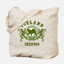 Iceland Sheepdog Tote Bag