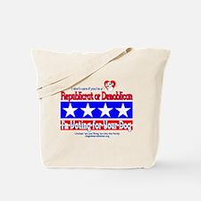 Republicrat or Demoblican Tote Bag