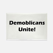 Demoblicans Unite! Rectangle Magnet