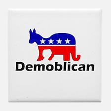 Demoblican Tile Coaster