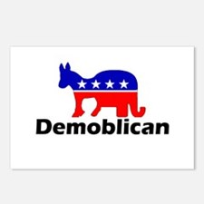 Demoblican Postcards (Package of 8)