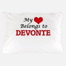 My heart belongs to Devonte Pillow Case