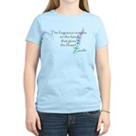 Gandhi Quote Women's Light T-Shirt