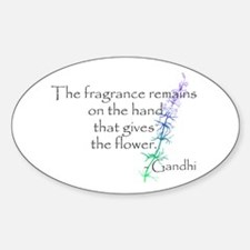 Gandhi Quote Decal
