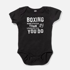 Boxing More Awesome Than Whatever Yo Baby Bodysuit