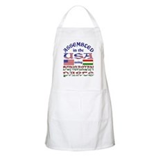 USA/Hungarian Parts BBQ Apron