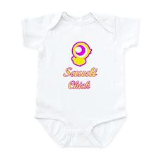 Saudi Chick Infant Bodysuit