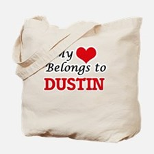 My heart belongs to Dustin Tote Bag