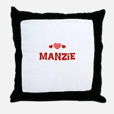 Manzie Throw Pillow