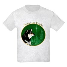 Shiba(blk) Peace T-Shirt