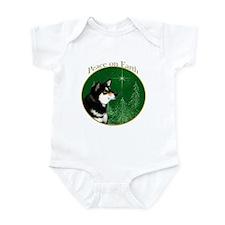 Shiba(blk) Peace Infant Bodysuit