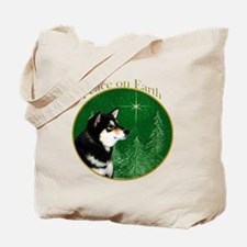Shiba(blk) Peace Tote Bag