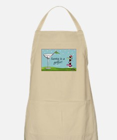 Santa is a golfer - Apron